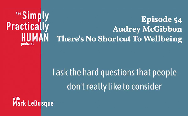 Audrey talks wellbeing strategy on the ‎Simply, Practically Human podcast